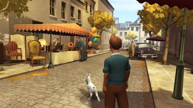 Die Geschichte beginnt auf dem Flohmarkt...