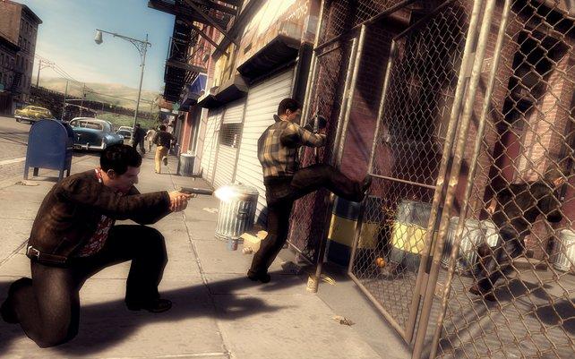 Grafisch setzt das Spiel auf deutlich abwechslungsreichere Texturen als beispielsweise ein GTA IV.