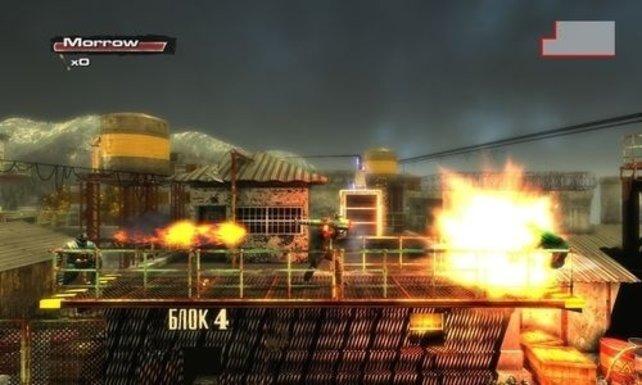 Technisch kann sich Rush'N Attack mit seinen dicken Explosionen sehen lassen.
