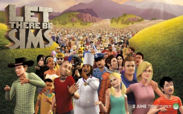 Die Invasion der Sims nimmt kein Ende.
