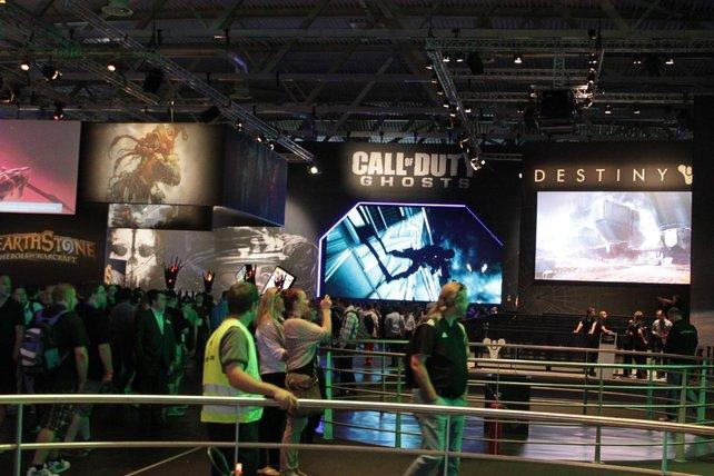 Activision und Blizzard setzen auf ihre Zugpferde World of Warcraft und Call of Duty.