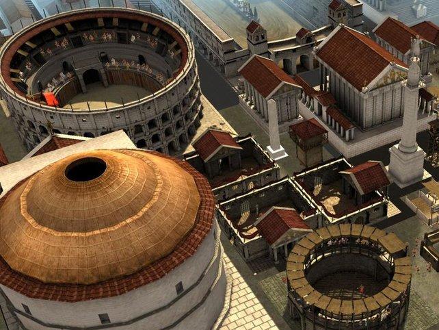 Koloseum und Sklavenmarkt