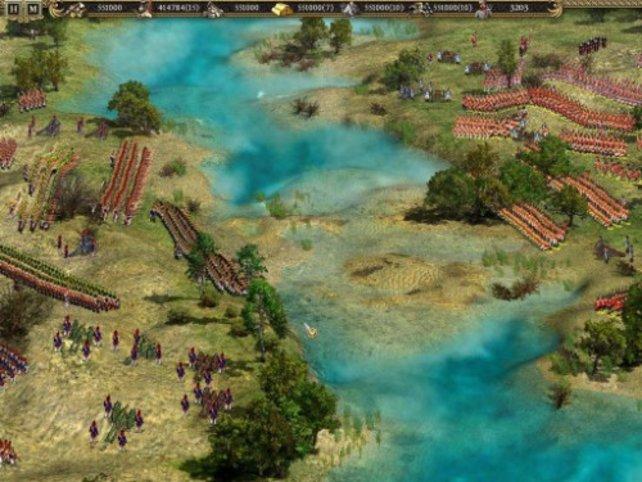 Formationen spielen eine wichtige Rolle in Cossacks 2