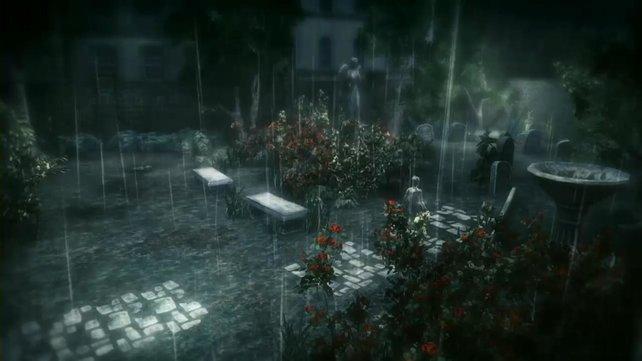 Erkennt ihr eure Silhouette im Regen?