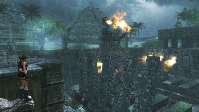 Mexico, starker Regen - die Frisur sitzt.