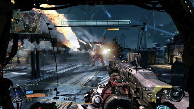 Sechs gegen sechs Spieler lassen zu Fuß und in Titans die Luft brennen.
