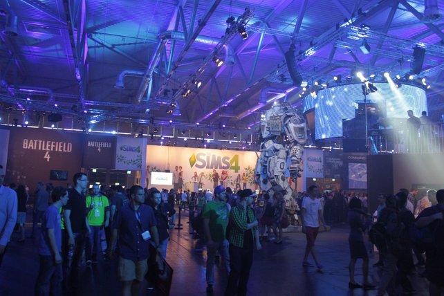 Von Battlefield 4 bis Sims 4: Electronic Arts bietet viele Spielmöglichkeiten.