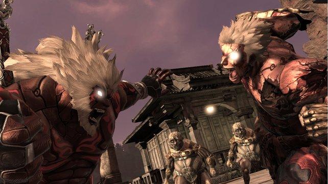 Asura's Wrath sieht oft großartig aus.