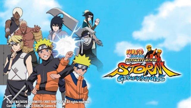 Es prügeln sich Charaktere aus Naruto und Naruto Shippuuden.