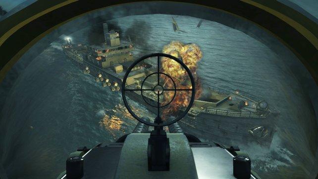 Call of Duty 5: Schiffe versenken in Handarbeit