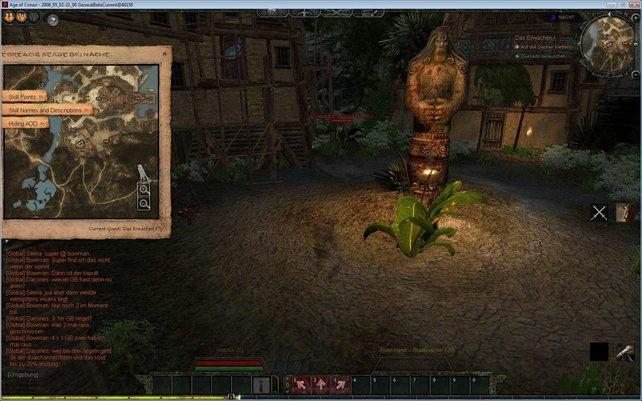 Gerade am Anfang sind die Quests gut beschrieben und dank der Kartenhilfen auch leicht zu finden..