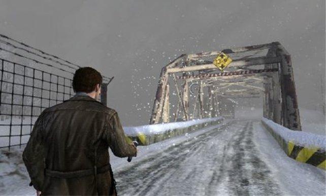 Endlich im Hellen: Harry stapft auch mal durch Schnee.