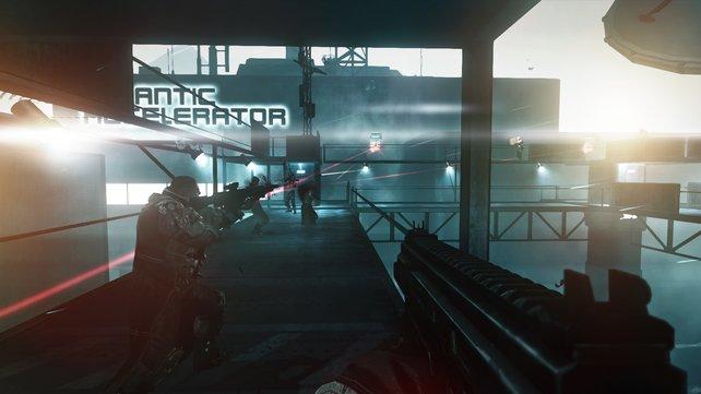 Vermeidet offene Schusswechsel und eliminiert zuerst die Scharfschützen!