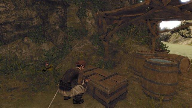 In versteckten Kisten gibt es oft wertvolle Gegenstände für euch.