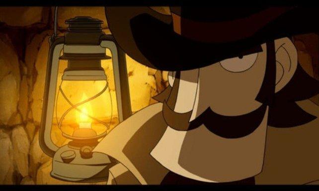 Doktor Lautrec trägt einen männlich-markanten Bart.