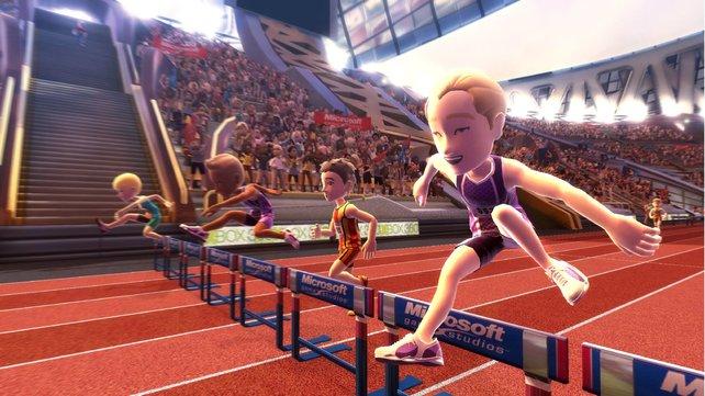 Bei Kinect Sports ist eure Ausdauer gefragt.