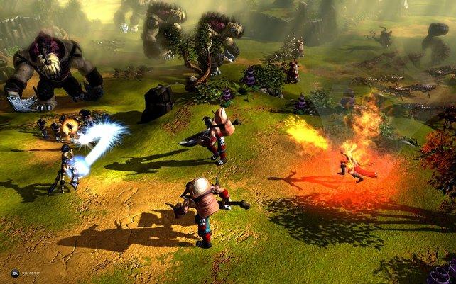 BattleForge schubst die Echtzeit-Strategie kräftig nach vorn.