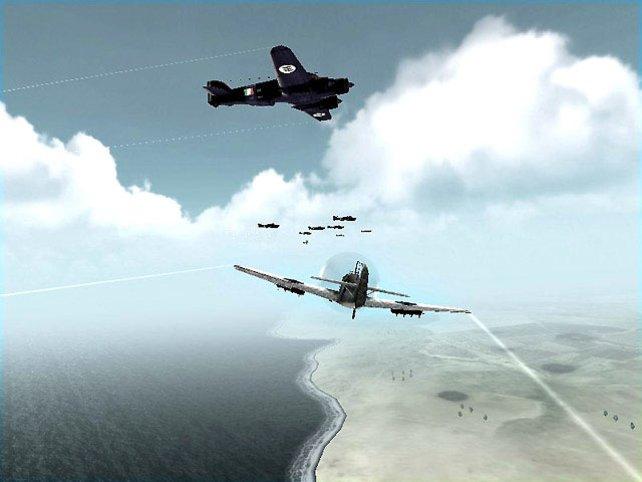 Bomber statt Blutelfen: Jeder Abschuss bringt uns Erfahrung, Beute und dem Questziel näher.