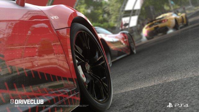 Es ist kein Gran Turismo, aber Driveclub sieht ebenfalls gut aus.