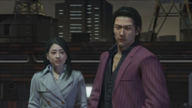 Originalgetreu: Die Charaktere reden japanisch.