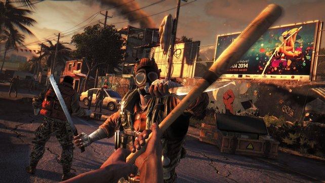 """In südamerikanisch angehauchten """"Favelas"""" geht es neben Zombies auch mal gegen Soldaten in den Kampf."""