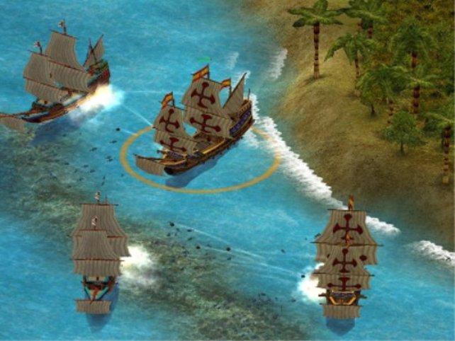 Ein Seekampf