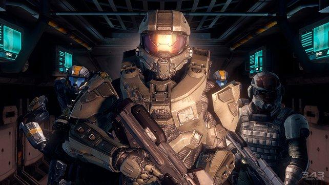 Der Master Chief kämpft in Halo 4 für die künstliche Intelligenz Cortana.