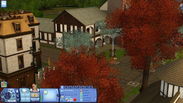 In Dragon Valley erwartet euch eine hübsche mittelalterliche Stadt.