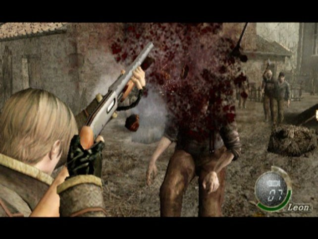 Resident Evil 4 ist definitv ein 18er Titel, und nicht fürs Nervenschwache.