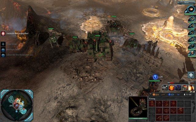 Die Imperiale Armee ist für schweres Geschütz bekannt.