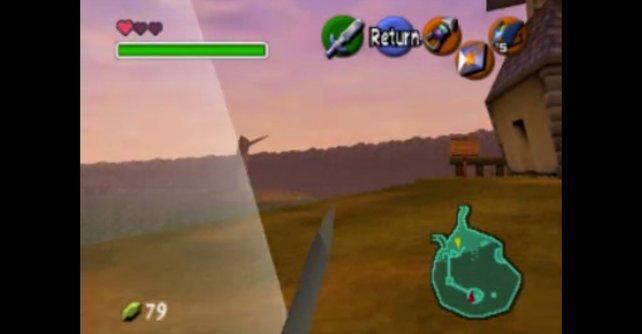 Ob Ocarina of Time in der Ego-Perspektive wohl dieselben Erfolge gefeiert hätte?
