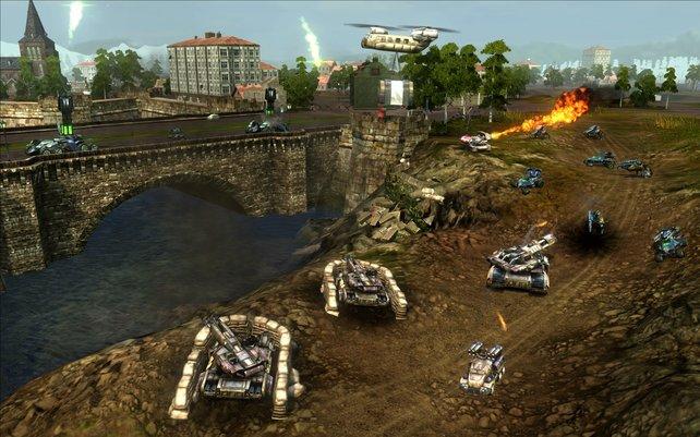 Jede Kriegsmaschinerie hat ihre Stärken, aber auch Schwachpunkte gegenüber anderen Einheiten.