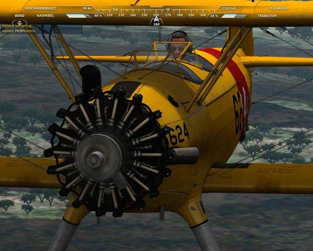 Die wenigen Flugzeuge überzeugen mit hohem Detailgrad.