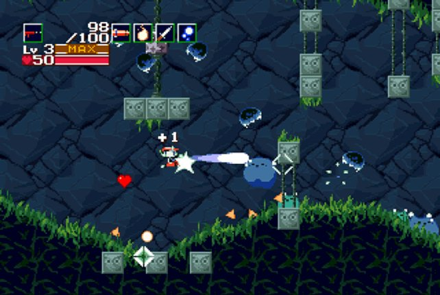 Auf dem PC bleibt Cave Story dem Pixel-Stil treu.