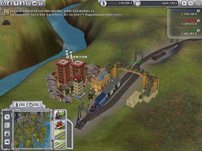 Kleine Häuser - Große Züge???