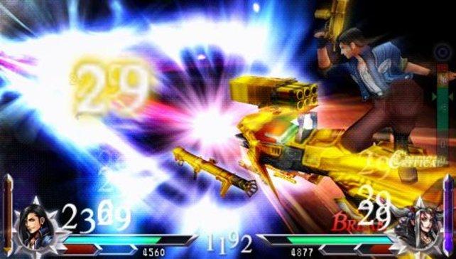 War im Vorgänger noch nicht Möglich: Das Final Fantasy VIII-Duell: Laguna Loire gegen Zeithexe Ultimecia.