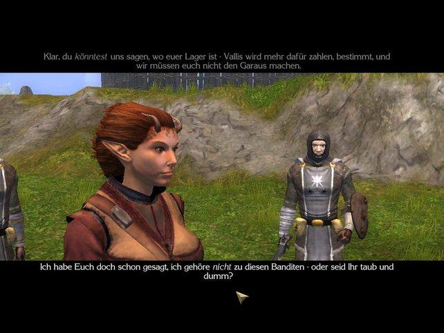 Die lebendige Interaktion zwischen den Charakteren ist einer der Stärken des Spiels