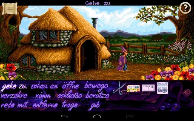 Möchtegern-Magier Simon erlebt sein klassisches Adventure nun auch auf Android.