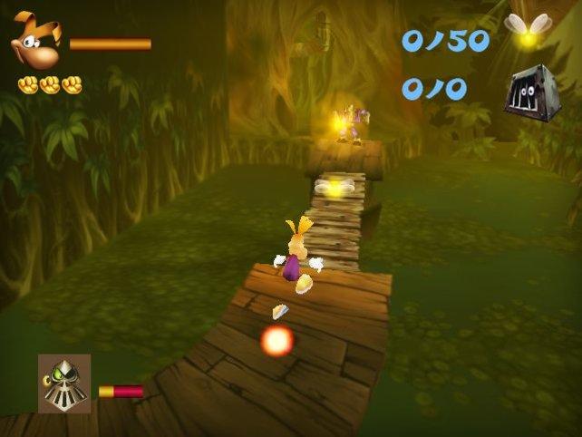 Rayman überzeugt mit seinem erfolgreichen Hüpfspiel auch auf den 3DS.