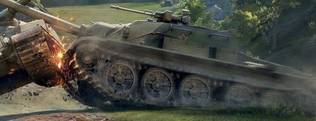 World of Tanks als altes Konsolenspiel