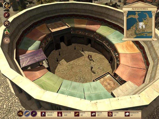 Das Kolosseum; diesmal nicht in Rom, sondern in Alexandria