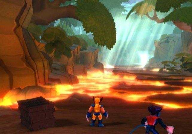 Respekt vor Lava: Klein-Wolverine.