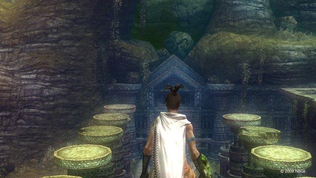 Der Großteil des Spiels besteht aus knackigen Rätseln.