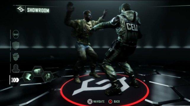 Im Menü von Crysis 3 sind zwei tanzende Soldaten versteckt.