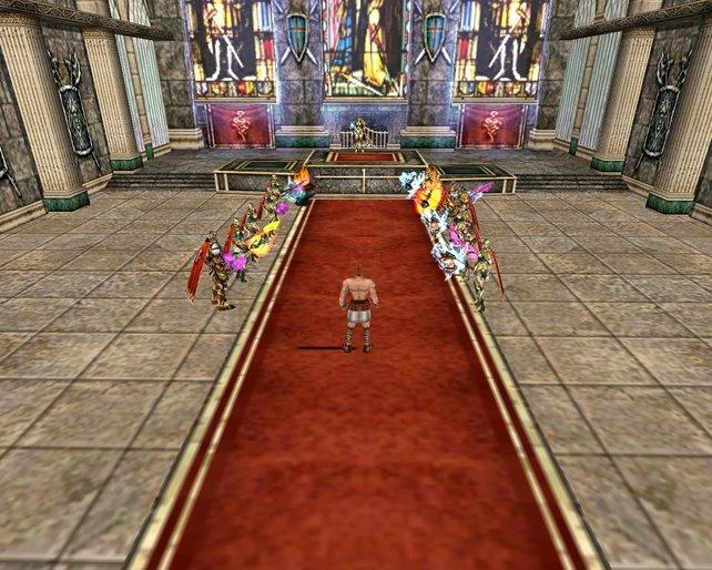Als Ritter schließt ihr euch entweder den El Morads oder den Orks an.