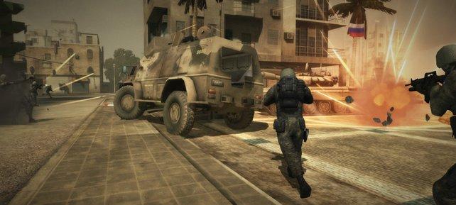 32 Spieler bekriegen sich auf kostenlosen Schlachtfeldern.
