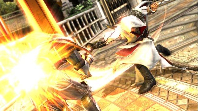 Ezio zu Gast bei Soul Calibur 5.