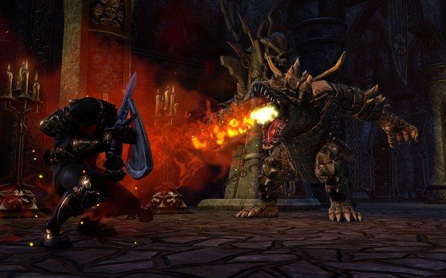 Die Handlung von The Elder Scrolls Online spielt rund 1.000 Jahre vor Skyrim..
