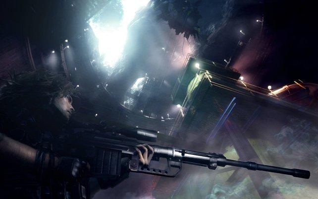 Die meisten der Missionen erledigt ihr lediglich mit einem Scharfschützengewehr und einem Messer.