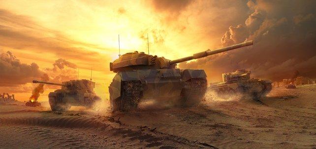 Brachiale Schlachten in World of Tanks sind endlich auch auf der Xbox 360 möglich.